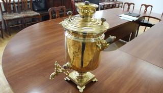 Тульский самовар, изготовленный в начале  ХХ века, передала в музей Уссурийская таможня