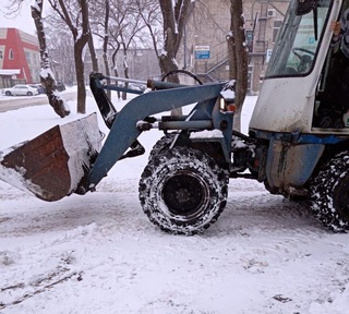 Снег в Уссурийске прекратится ещё до обеда