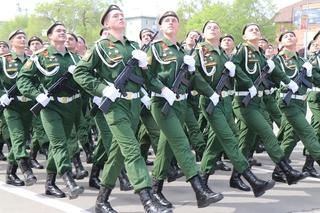 Военный парад пройдет в Уссурийске