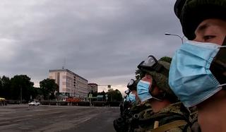 В Уссурийске прошла очередная репетиция Парада Победы