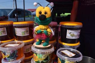 Ярмарка меда в Уссурийске приняла первых покупателей