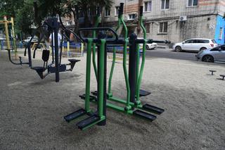 В Уссурийске открыли еще три площадки по программе «Спортивный дворик»