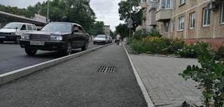 В центре Уссурийска продолжается комплексный ремонт автомобильных дорог