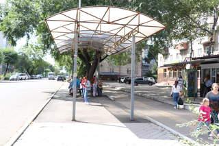 Новые автобусные павильоны появятся в районе Центрального рынка