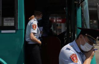За нарушение противоэпидемических правил будут наказаны перевозчики в Уссурийске