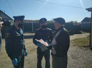 Профилактические противопожарные рейды проводятся в Уссурийском городском округе