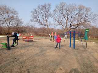 Радость маленького села: в Николо-Львовском появилась первая детская площадка