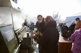 Пункты питания и завоз продуктов организуют на острове Русский в Приморье