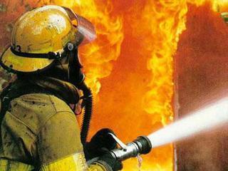 Пожарные, скорая, полиция примчались к месту пожара в Уссурийске
