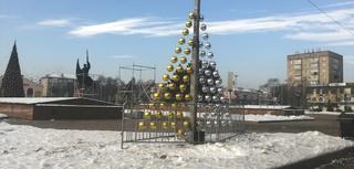 Возведение ледовых фигур в центре Уссурийска начнется на этих выходных