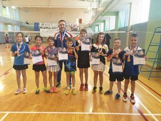 Спортсмены из Уссурийска заняли первое место в Первенстве края по бадминтону