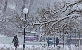 Сильный снег накроет Приморье