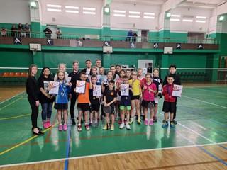 Уссурийские спортсмены приняли участие в турнире по бадминтону