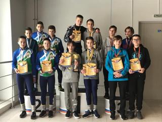 Уссурийские шорт-трекисты успешно выступили на международном турнире