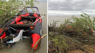 Спасатели нашли тела супругов, пропавших с лодки на озере Ханка