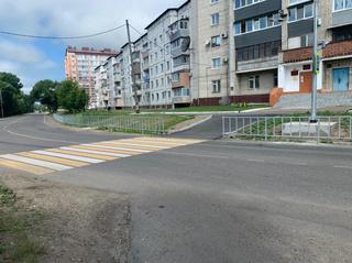 Первый проекционный пешеходный переход появится в Уссурийске
