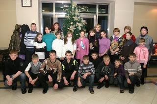Приморские дети отправились на Кремлевскую елку