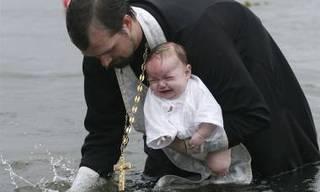 В православный праздник 120 жителей Приморья приняли Крещение на водохранилище