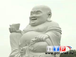 Огромная статуя Будды появилась под Уссурийском