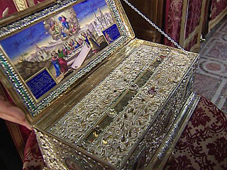 Ковчег с Поясом Пресвятой Богородицы прибыл в Уссурийск