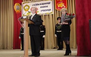 Суворовское военное училище отметило очередную годовщину своего образования