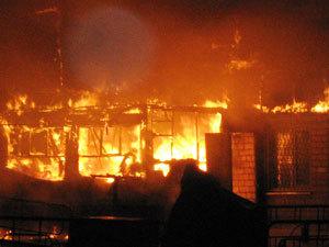 В Уссурийске в частном доме заживо сгорел пенсионер