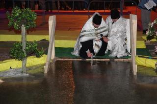 В крещенскую ночь Кугуковское водохранилище посетило около семи тысяч человек