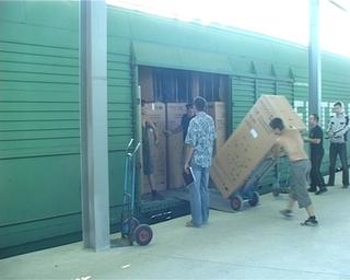 Бытовая техника из Уссурийска добралась до Цхинвала