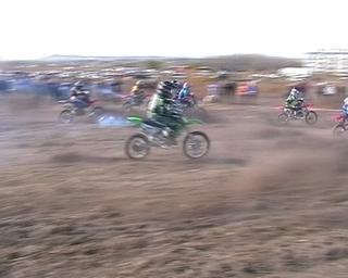 В  Воздвиженке прошёл последний этап Чемпионата края по мотокроссу