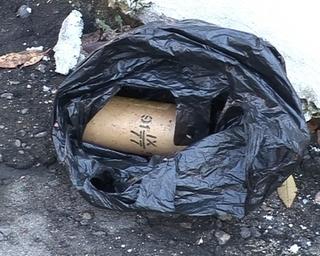 На улице Плеханова обнаружили взрывпакет  в боевом состоянии