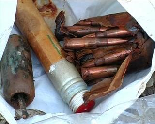 Пакет с боеприпасами обнаружили в Уссурийске