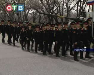 День открытых дверей провели в Уссурийском суворовском военном училище