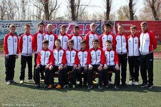 Футболисты «Мостовика-98» стали победителями Зонального Первенства России