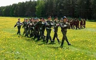 В УГО подведены итоги военно-спортивной игры «Зарница»