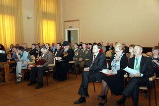 В УГО прошла конференция, посвящённая 20-летию Совета родителей военнослужащих