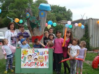 Праздник для детей устроили на разных площадках города