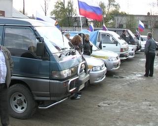 Уссурийские автомобилисты привезли подарки детдомовцам Яковлевского района