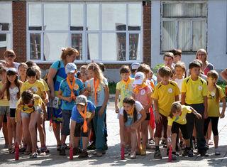 На территории ЦДТ состоялось мероприятие для пришкольных лагерей «День рекордов»