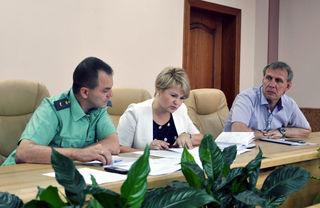 В администрации прошло совещание с сотрудниками отдела судебных приставов