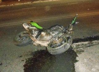В Уссурийске в минувшие выходные погиб мотоциклист