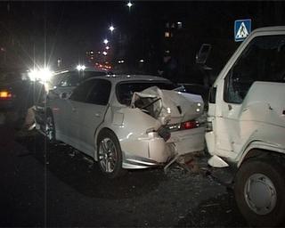 Пьяный водитель спровоцировал тройное ДТП