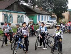 Велотур в честь Дня знаний стартовал в Уссурийске