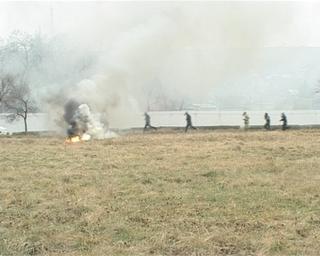 Военно-патриотическая игра «Орлёнок» прошла в боевых условиях