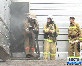 Пожарные из Уссурийска самые быстрые